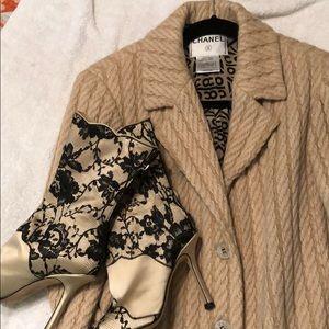 Chanel Alpaca Wool Silk coat